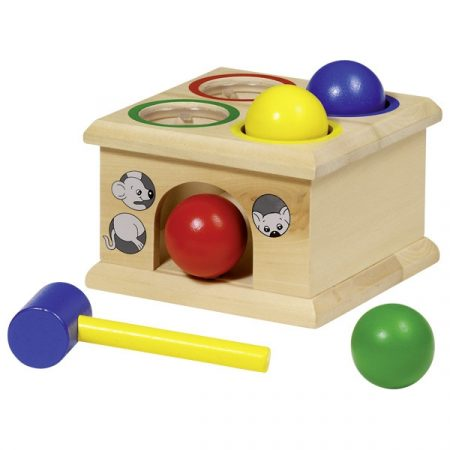 Fang die Maus Fidu, Holzspielzeug