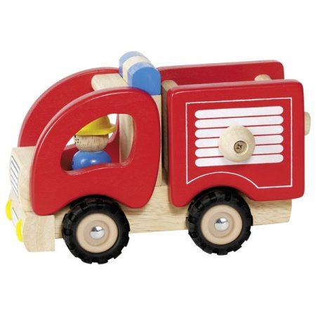 Feuerwehr Holzspielzeug