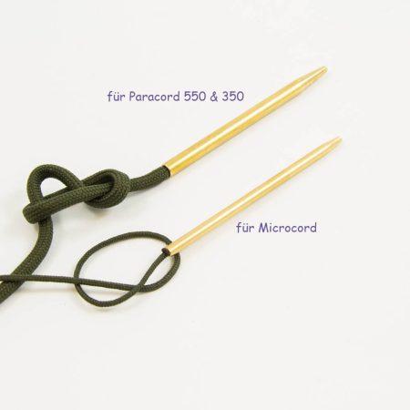 Paracord Nadel für 550 und 350