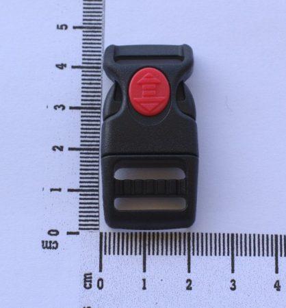 Paracord Zubehör - Schnellverschluss - Black - 15 mm