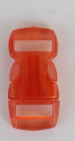 """Schnellverschluss - 10 mm - """"Jelly Colored"""" - Orange"""